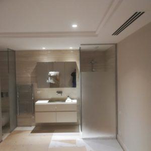 salle de bain et chambre à Paris